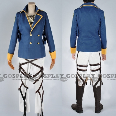 Eren Costume (Blue Ver) from Attack On Titan