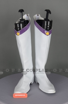 Eternal Sailor Saturn Shoes from Sailor Moon