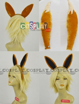 Evee Cosplay (Tail and Ears) from Pokemon