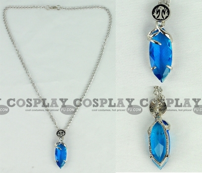 Final Fantasy Crystal Necklace from Final Fantasy