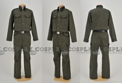 Full Metal Panic military Uniform