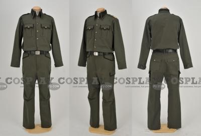 Full Metal Panic military Uniform