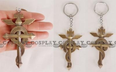 Fullmetal Alchemist Key Ring (Edward Snake) from Fullmetal Alchemist