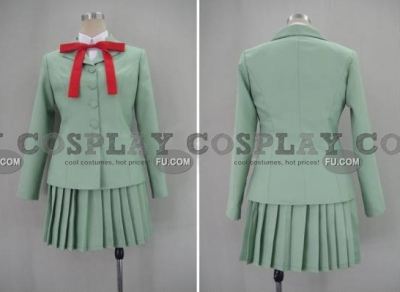 Fuu Cosplay (Uniform) from Magic Knight Rayearth