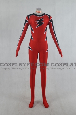 Geki Red Cosplay from Juken Sentai Gekiranger