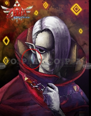 Ghirahim Earring from The Legend of Zelda Skyward Sword