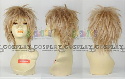 Gilbert (Prussia) Blonde Wig from Axis Powers Hetalia
