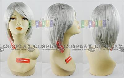 Gin Cosplay Wig from Bleach