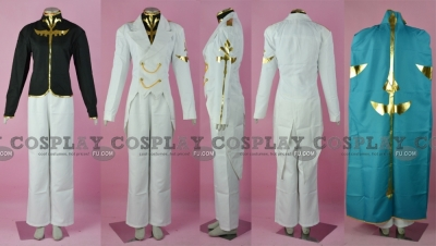 Gino Cosplay from Code Geass