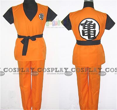 Dragon Ball Costume. Goku Costume