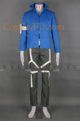 Gokudera Cosplay from Katekyo Hitman Reborn