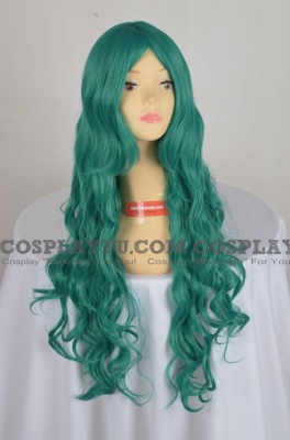 Green Wig (Long,Curly,Neliel)