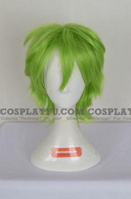 Green Wig (Short,Spike,XSP03RY,CF29)