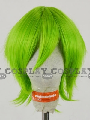 Green Wig (Short,Spike,Reki)