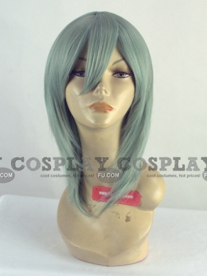 Green Wig (Spike,Medium, Ichiko)