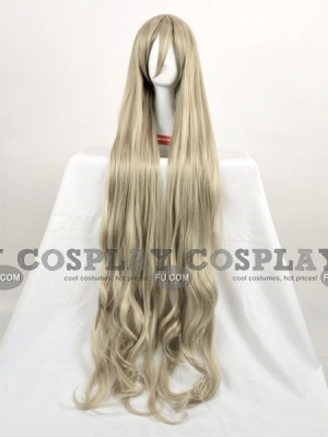 Grey Wig (Curly, Long, Mari)
