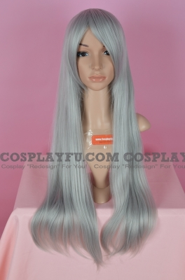 Grey Wig (Long,Straight,Yazoo,CF08)