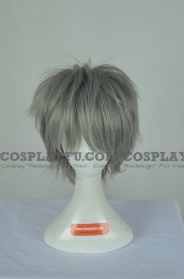 Grey Wig (Short,Kinji)