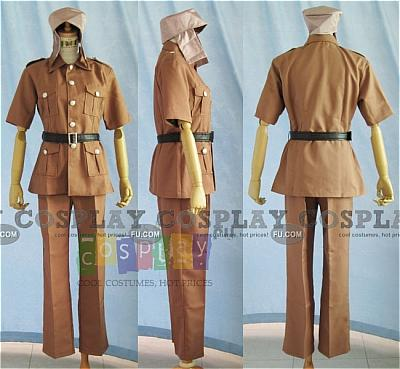 Gupta Costume (Egypt) from Axis Powers Hetalia