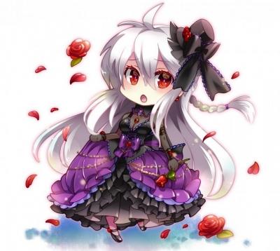 Haku Cosplay from Hatsune Miku Project DIVA Extend