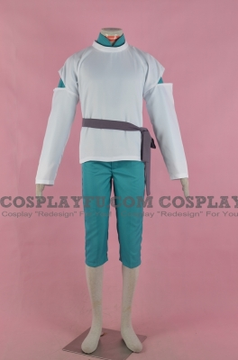 Haku Cosplay from Spirited Away