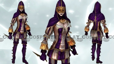 Harlequin Cosplay (Female) from Assassin's Creed