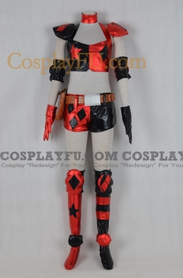 Harley Quinn (Poker) Cosplay from Batman Arkham City