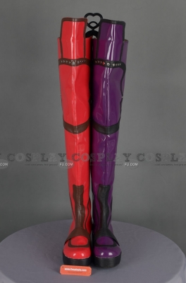 Harley Quinn Shoes (Q497) from Batman Arkham Asylum