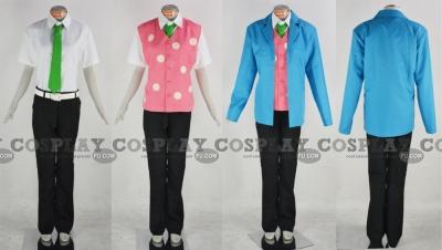 Haru Cosplay (School Uniform) from Tsuritama
