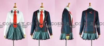 Hibiki School Uniform from Senki Zesshou Symphogear