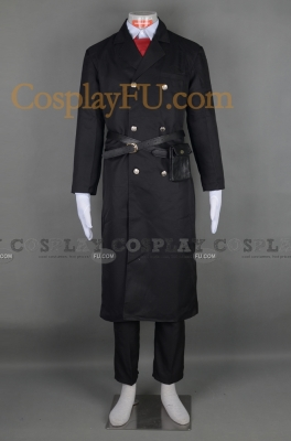 Hirato Cosplay (Black) from Karneval