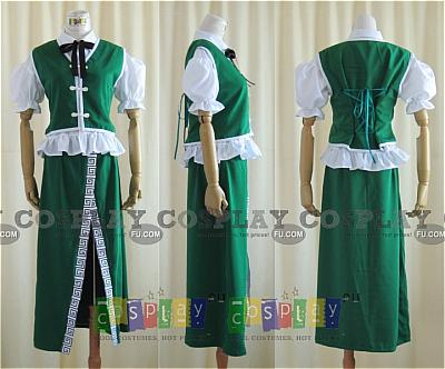 Meirin Cosplay from Touhou Project