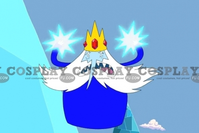 Ice King Cosplay from Adventure Time
