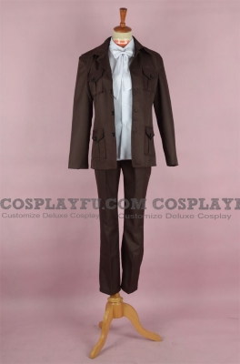 Iceland Cosplay Costume from Axis Powers Hetalia