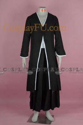 Ichigo Cosplay (Black Bankai Costume 6-190) from Bleach