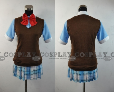 Ichiko Cosplay (Shirt and Vest) from Binbougami-ga