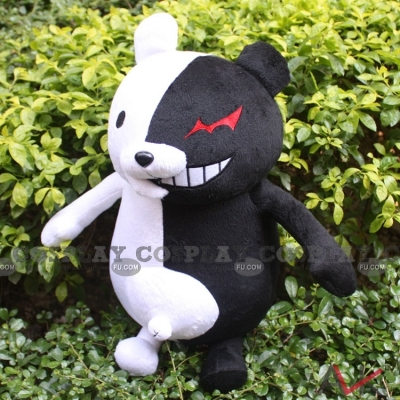 Monokuma Plush from Danganronpa