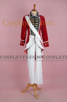 Independent War of United Kingdom Cosplay Costume from Axis Powers Hetalia
