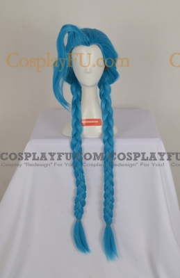 Jinx Wig (2nd) from League of Legends