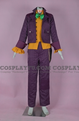 Joker Costume (2nd) from Batman Arkham City