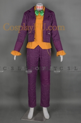 Joker Costume from Batman Arkham City