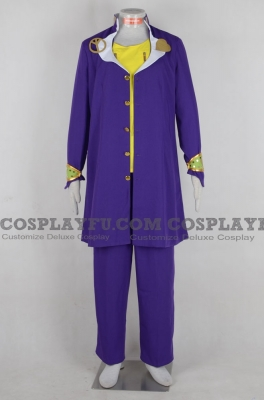 Josuke Cosplay (Dark Purple) from JoJos Bizarre Adventure