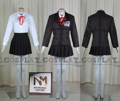 Yuki Cosplay (Brown Uniform) from Persona Trinity Soul
