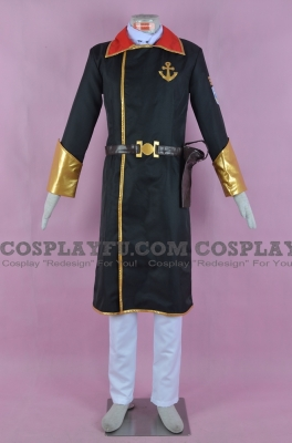 Juzo Cosplay from Space Battleship Yamato