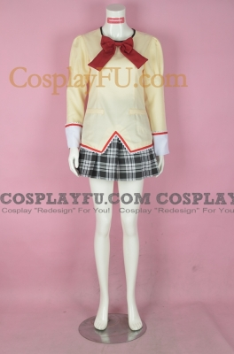 Kaname Cosplay (Uniform) from Puella Magi Madoka Magica