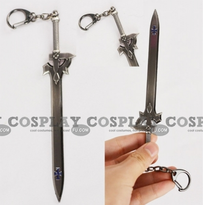Kazuto Sword Key Ring from Sword Art Online