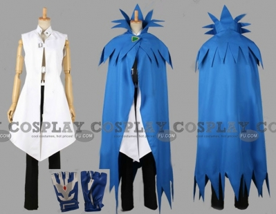 King Z Cosplay from Cardfight Vanguard