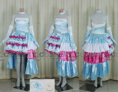 Kirari Cosplay (Blue Dress) from Kirarin Revolution