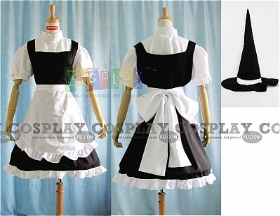 Kirisame Cosplay Costume from Touhou Project