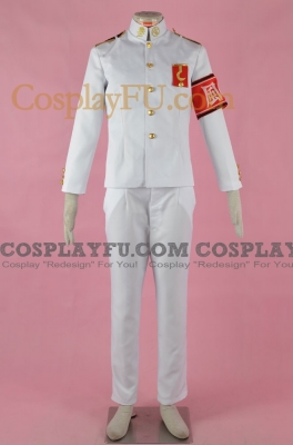 Kiyotaka Cosplay from Danganronpa